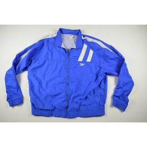 Vintage 90s Speedo Mens Windbreaker Jacket Sz 2XL